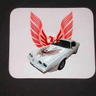 New 1981 White Pontiac Firebird Trans AM Mousepad!