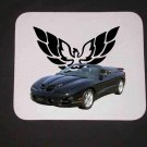New 1998 Black Pontiac Trans AM Convertible Mousepad!