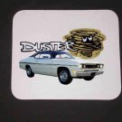 New White 1970 Plymouth Duster Mousepad