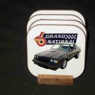 New 1987 Buick Grand National Hard Coaster set!!