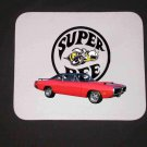 New Red 1970 Dodge Superbee Mousepad!!