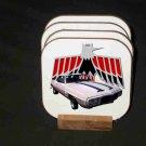 New 1969 Pontiac Trans AM Hard Coaster set!