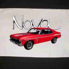 New Red 1969 Chevy Yenko Nova Hand Towel