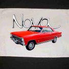 New Red 1966 Chevy Nova Hand Towel