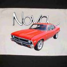 New Red 1972 Chevy Nova SS Hand Towel