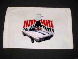 New 1969 Pontiac Trans AM Hand Towel