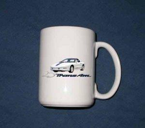 New 15 oz. 1994 Pontiac 25th anniversary Trans AM mug