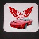 New 2002 Red Pontiac Trans AM WS6 Mousepad!