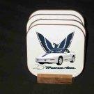 New 1994 Pontiac Trans AM 25th Anniversary Hard Coaster set!
