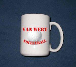 New 15 oz. Van Wert Volleyball mug