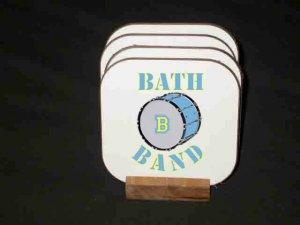 New Bath Band Hard Coaster set!