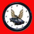 New Black 1979 Pontiac Trans AM Wall Clock