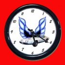 New White 1979 Pontiac Formula Firebird Wall Clock