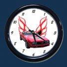 New Red 1978 Pontiac Trans AM Wall Clock