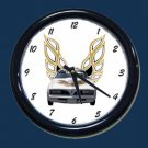 New White/Gold 1978 Pontiac Trans AM Wall Clock