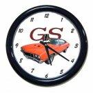 New Orange 1972 Buick Gran Sport Wall Clock