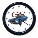 New Blue 1971 Buick Gran Sport Wall Clock