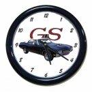 New Dk. Blue 1970 Buick Gran Sport Convertible Wall Clock