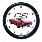New Red 1968 Buick Gran Sport Wall Clock
