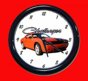 New 2009 Dodge Challenger SRT8 Wall Clock
