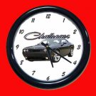 New Black 2009 Dodge Challenger Wall Clock