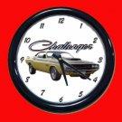 New 1970 Dodge Challenger TA Wall Clock