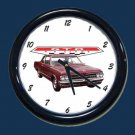 New Maroon 1964 Pontiac GTO Wall Clock