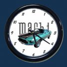 New 1969 Mustang Mach 1 Wall Clock