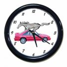 New Red 1993 Ford Mustang Cobra Wall Clock