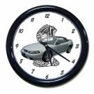 New Silver 2001 Ford Mustang Cobra Wall Clock