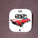 New Red/White 1970 Chevy Chevelle SS Desk Clock