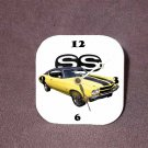 New Yellow 1970 Chevy Chevelle SS Desk Clock