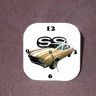 New Gold 1970 Chevy Chevelle SS Desk Clock