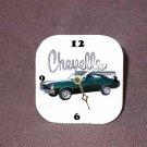 New Green 1970 Chevy Chevelle Desk Clock