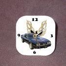 New 1977 Pontiac Bandit Trans AM Desk Clock