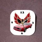 New Red 1977 Pontiac Trans AM Desk Clock