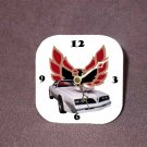New White 1977 Pontiac Trans AM Desk Clock