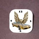 New Gold 1979 Pontiac Trans AM Desk Clock
