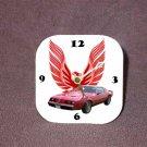 New Red 1979 Pontiac Formula Firebird Desk Clock