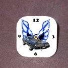 New Dk. Blue Eagle 1979 Pontiac Trans AM Desk Clock
