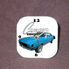 New Blue 1969 Chevy Camaro RS/SS Desk Clock