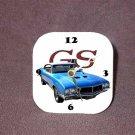 New 1970 Blue Buick Gran Sport Desk Clock