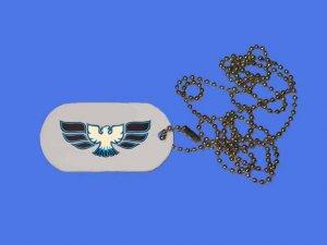 New 1970-72 Pontiac Trans AM Logo ID Tag