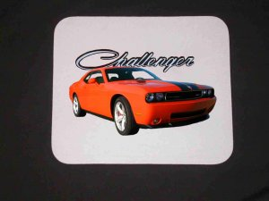 New 2009 Dodge Challenger SRT8 Mousepad!!