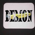 New 1971 Yellow Dodge Demon w/ letters Mousepad