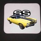 New 1970 Yellow Chevy Chevelle SS Mousepad!