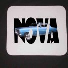 New 1966 Chevy Nova SS w/ letters Mousepad!