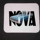 New 1965 Chevy Nova w/ letters Mousepad!