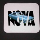 New Blue 1972 Chevy Nova SS w/ letters Mousepad!