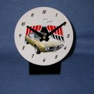 New  1967 Gold Pontiac Firebird  desk clock!